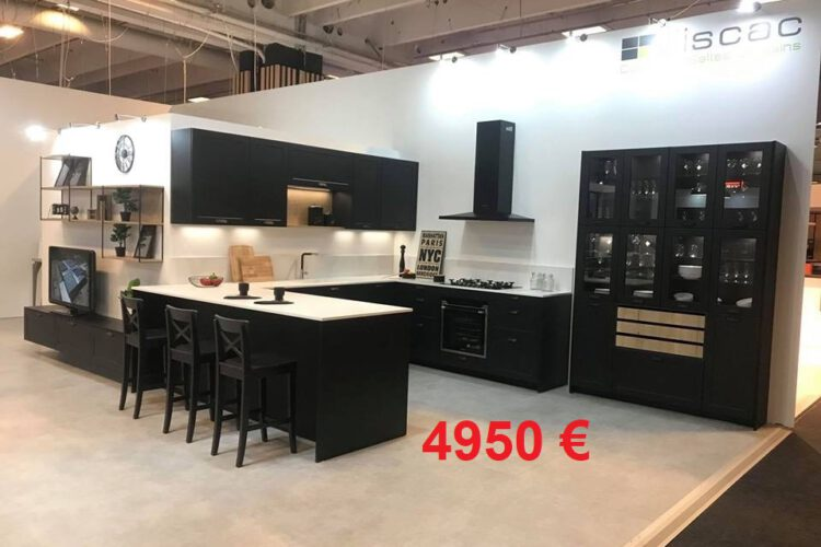 4950 € cuisine neuve exposition plan silestone