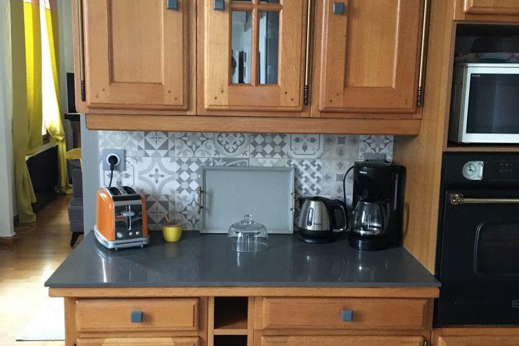 Changement plan de travail dans cuisine