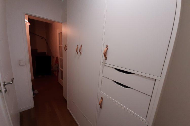 Amenagement placard dans couloir